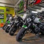 Kawasaki Motorräder bei Motorrad Hutzel in Lohr