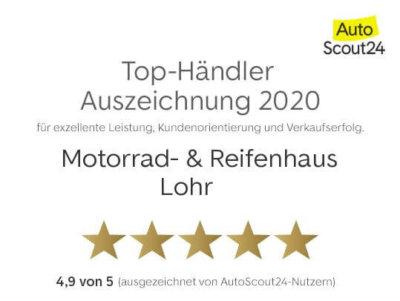 Top-Händler Auszeichnung Motorrad- & Reifenhaus Lohr